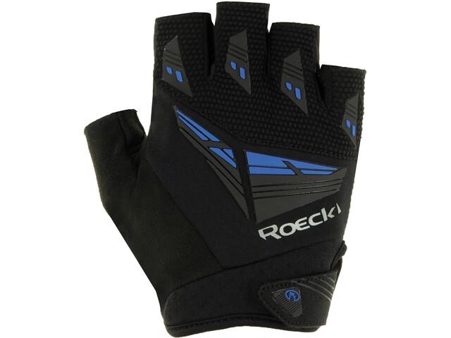 Roeckl Iron Guantes, black/blue